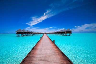 Plaza na Maldivima
