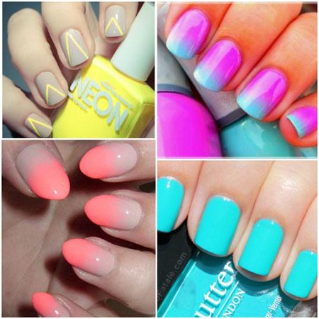 neonski nokti