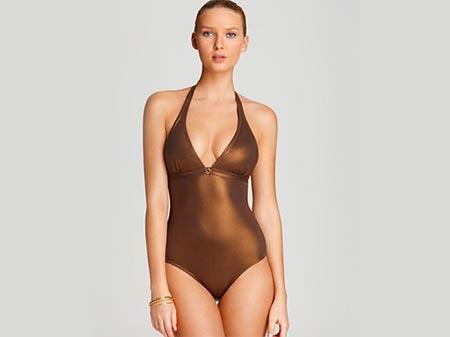 Metalik kupaći kostim za leto 2013