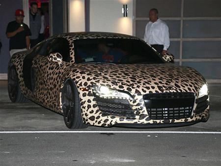 Automobil Dzastina Biebera