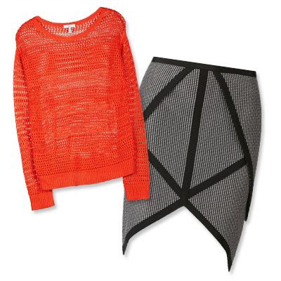 dyemperi i suknje Upečatljiva kombinacija