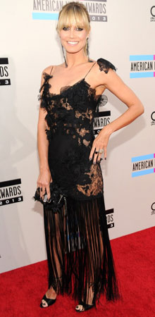 Heidi Klum na American Music Awards