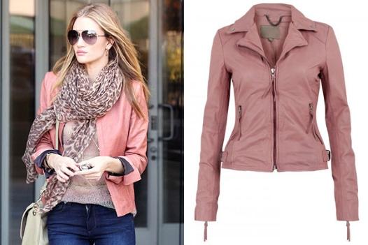 Romantična kožna jakna