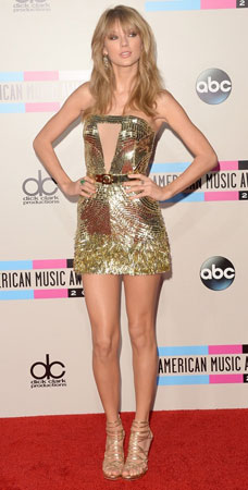 Taylor Swift na American Music Awards 2013