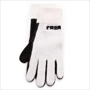 Crno i belo rukavice