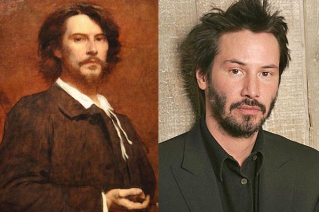 Keanu Reeves i Pol Mone