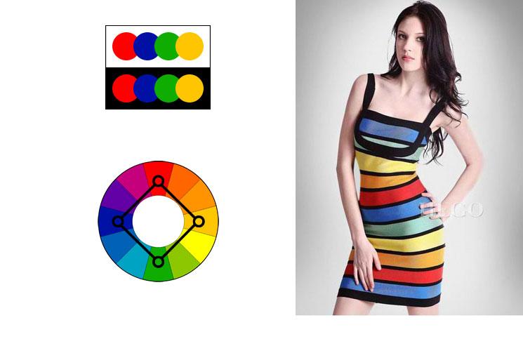 Šema kvadratnih boja