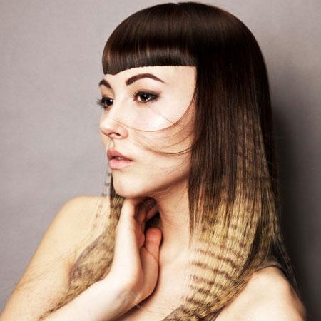 Ombre frizura