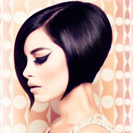 Retro kratka frizura