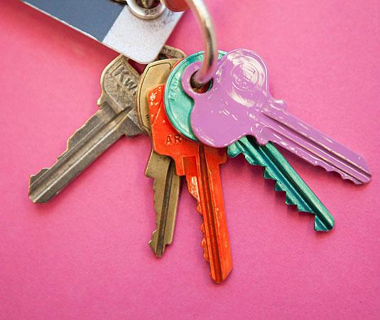 Za lakše prepoznavanje ključeva