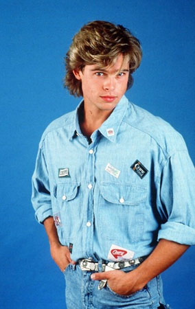 Brad Pitt kao tinejdzer