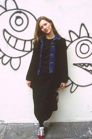 Kate Moss kao tinejdzer