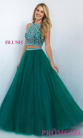 glamurozna haljina iz dva dela