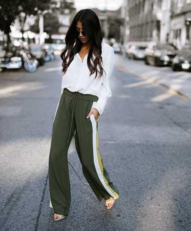 Kombinacije sa pantalonama sa trakama