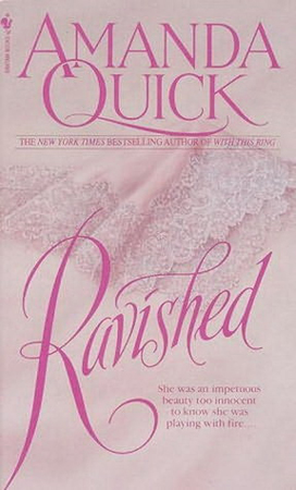 ljubavni roman Ravished - Amanda Quick