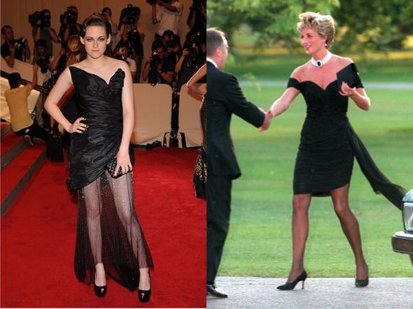 Kristen Stewart kao princeza Diana - mala crna haljina