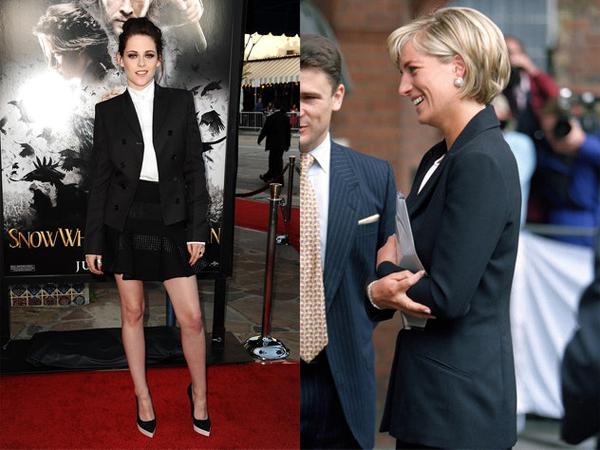 Kristen Stewart kao princeza Diana - decacki stil