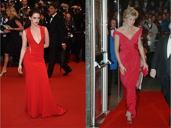 Kristen Stewart kao princeza Diana u crvenom